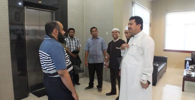 زيارة الشيخ عمر المتعلمي