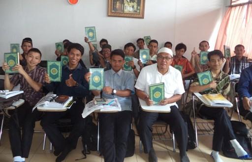 توزيع المصاحف و الكتب الإسلامية